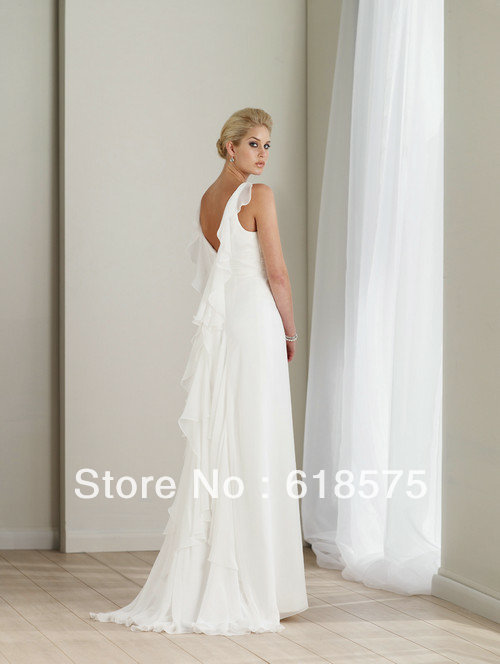 Casual Wedding Dresses Off White