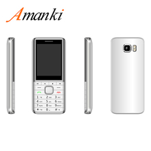 Amanki Mobile Phone GSM 850/900/1800/1900 MHz 2.4 inch Screen Dual SIM Dual 대기 셀 <span class=keywords><strong>전화</strong></span>