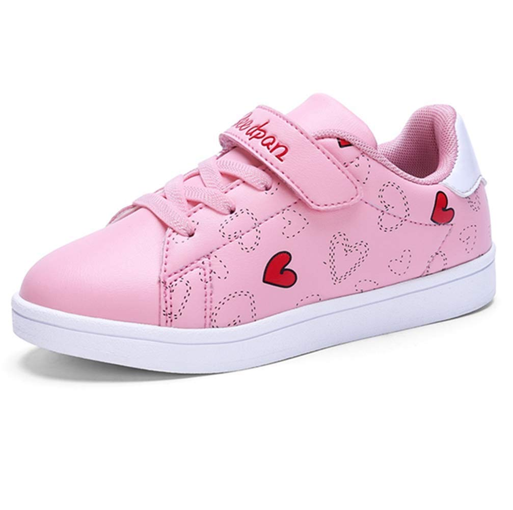 4488aba33840 Get Quotations · LGXH Girls Wear-Resistant Skate Shoes Non-Slip Breathable Little  Kid Casual Sports Skateboarding