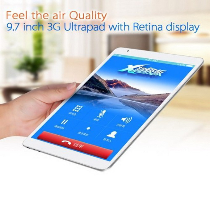 original Retina 2048x1536 Teclast X98 Air 3G Dual Boot tablet pc Intel Z3736F Quad Core 2.16GHz 2GB+32GB WCDMA phone call GPS