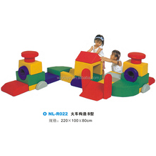 Bambini Indoor Soft <span class=keywords><strong>Play</strong></span> Struttura Treno <span class=keywords><strong>B</strong></span> Centro