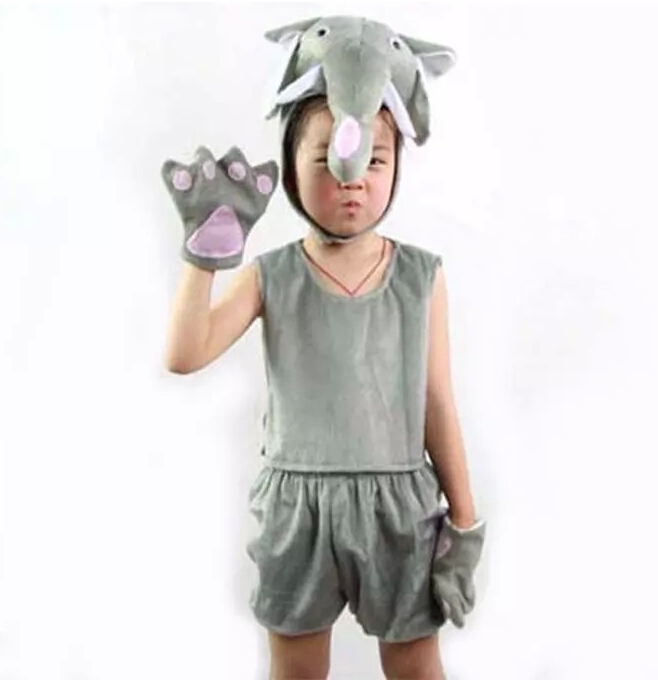 Boy Girl Animal Pajama Short Sleeve Wolf Cosplay Costume Funny Halloween Party Suit Kid Cartoon Carnival Childrens Day Fancy More Discounts Surprises Home