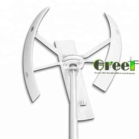 3 phase AC Low Noise 300W vertical wind generator