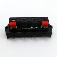 Factory direct sale WP4-409 Black red Wire clip for line