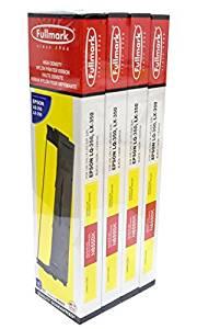 Black Fullmark N477BK High Density Nylon Printer Ribbon compatible replacement for Epson FX//MX // RX 70//80 FX//LX 800 LQ 300//500 // 570//800 // 850//870 8750 6-pack