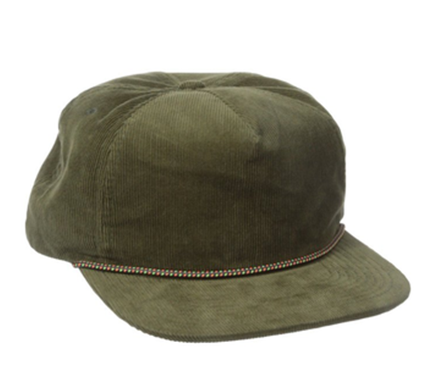 Wholesale Custom Blank Rope Hat Plain Corduroy Cap 5 Panel Cap - Buy ... e45d4212466