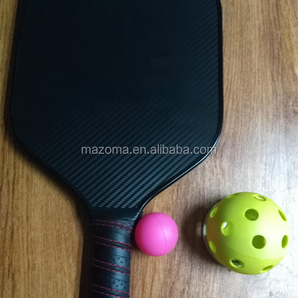 Premio personalizzato sport in fibra di carbonio grafite pickleball paddle