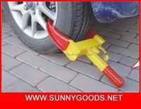 High quality steel security car wheel clamp lock&steering wheel lock