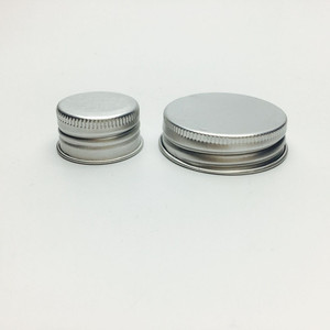 custom size screw aluminum bottle cap for glass jar bottle