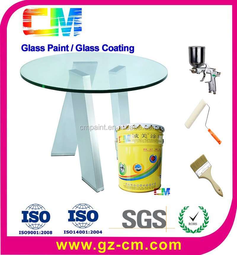 Glass coating- waterbased uv proof clear spray glass paint
