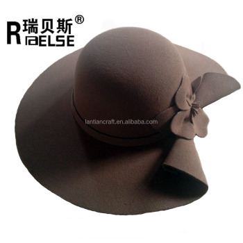 8a28b8acd9d79 Wholesale Women Wide Brim Wool Felt Floppy Hat - Buy Floppy Hat ...