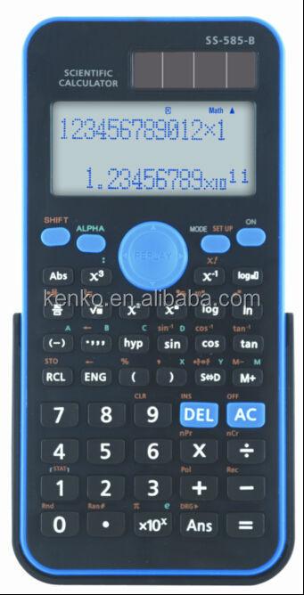 Ss-585 2 Line Solar Scientific Calculator
