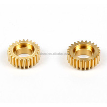 caron steel aluminum alloy bronze brass custom gear for paper shredder