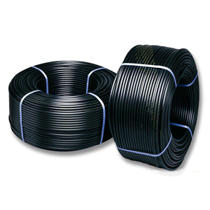 Factory Outlet HDPE Pipe 1 inch Black Plastic Water Pipe Roll for Water Supply