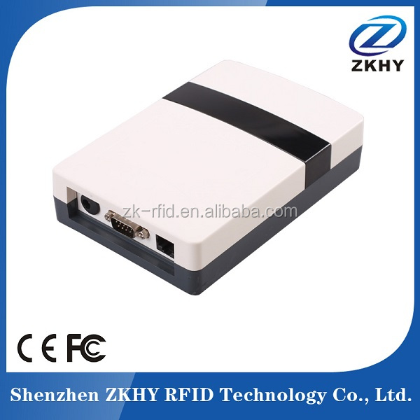 Plastic UHF RFID Card Reader WIFI LAN For Multi Tag Inventory