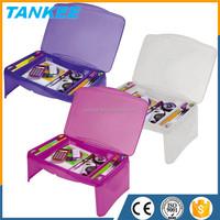Seven Eleven magic lap desk with storage compartment kids lap desk plastic folding lap desk