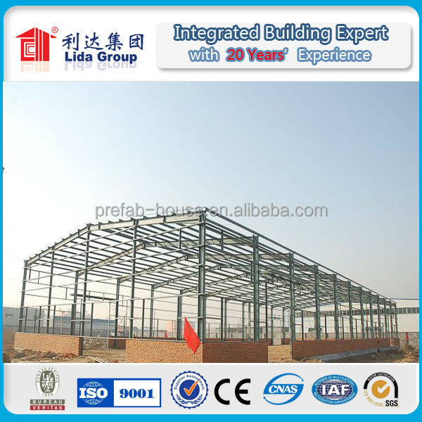 fast build steel structure construction house