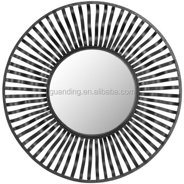 diseo de hierro forjado espejo de pared decorativos