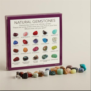 Best-Selling gemstone collection Tumbled Stone Chakra Healing Balancing Kit Healing stone gift set