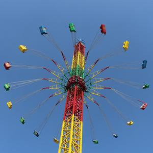 Hot Sale Flying Tower Amusement Park Ride Import from China with 36 Seats Manufacturer for Amusement Park