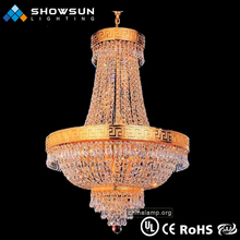 gold cheap chandelier lamp in indian style