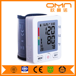 Hospital Digital beurer wrist Blood Pressure Monitor with pulse oximeter / Electronic Blood Pressure Machine