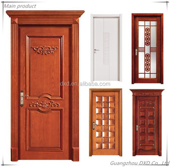 Customized Solid Wood Door,veneer Wooden Flush Door Design