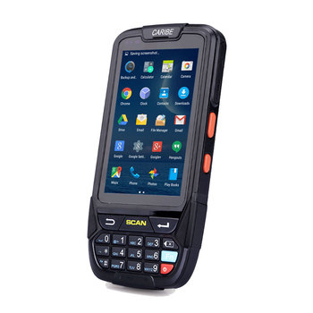 CARIBE Cheap Android 4G NFC Handheld Terminal Tablet PC Barcode Scanner PDAs