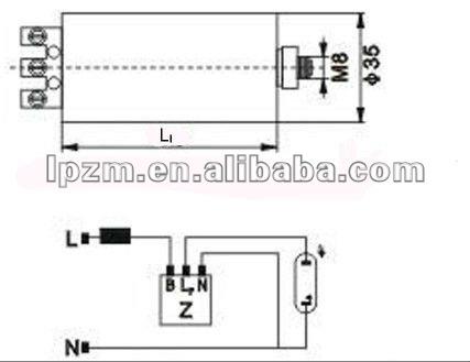 Sensational Mh Lamp Wiring Diagram Basic Electronics Wiring Diagram Wiring 101 Israstreekradiomeanderfmnl