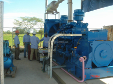 500kw natural gas generator from supermaly power