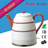 High quality ceramic electric tea kettle 1.6L min electric kettle with boil dry protection