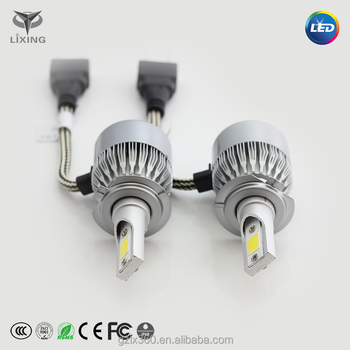 C6 Led Headlights 38w 3800lm Led Light Bulbs H1 H3 H7 9005 9006 H11 H4 H13  9004 9007 Automobiles Headlamp - Buy C6 Led Headlights,Led Light Bulbs,H4