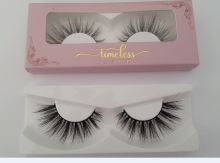 Senos Free Samples OEM Service Private Label Beautiful Eye Lashes False Artificial Eyelash