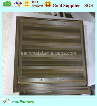 Aluminum Profile Shutter Louvers