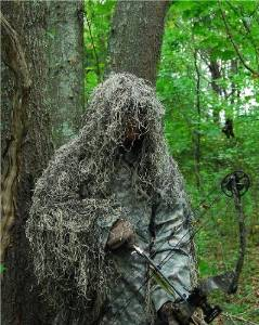 GhillieSuits - PP-G-BOW-M-M-S-RH - Synthetic Ultra-Light Ghillie Bow Hunting Jacket R
