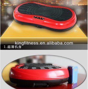 Kingfitness--2014 NEW Arrival Crazy Fit Mini Full Body Massage Vibration Machine Power Plate 500W 60 Speed Setting