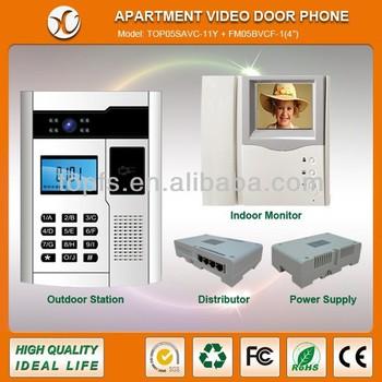 Apartment Building Video Doorbell System