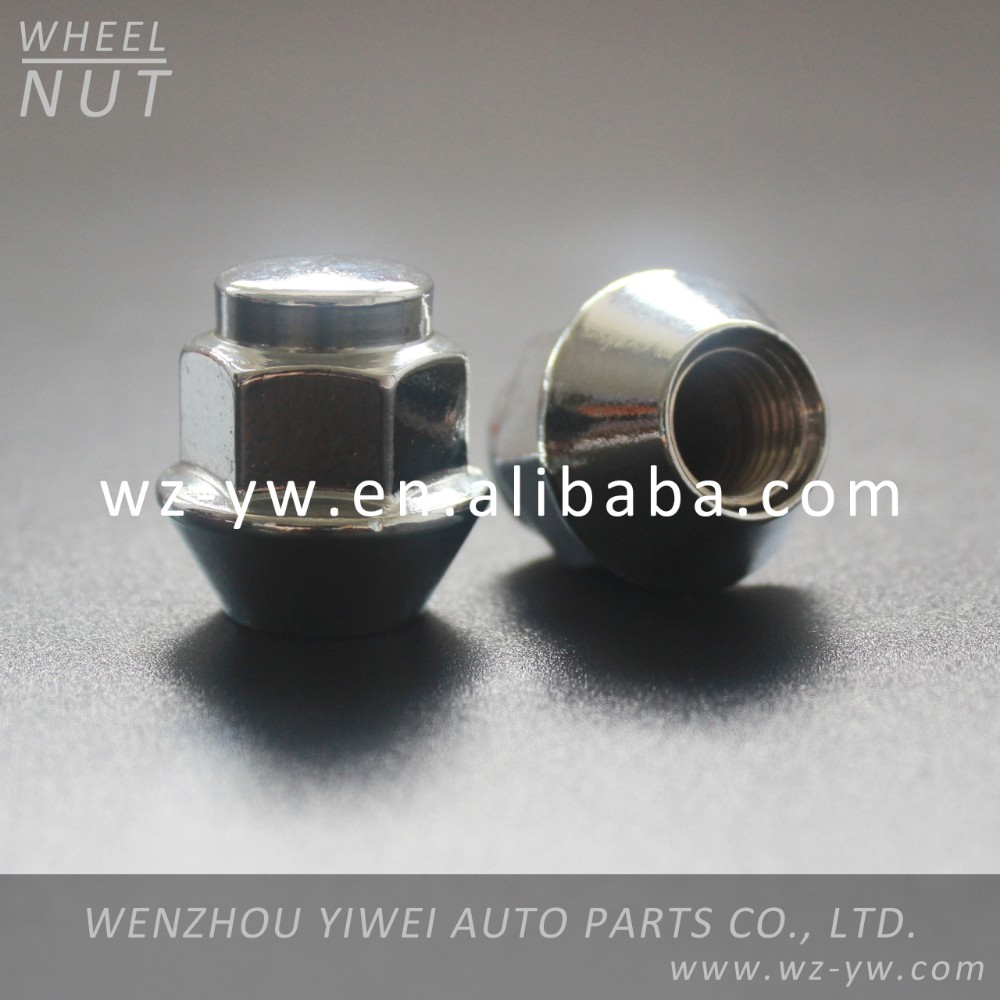 M10*1.25 chrome wheel nut covers