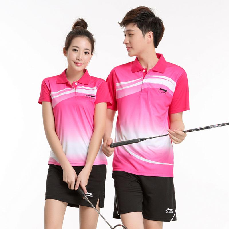 Buy Badminton Clothes Men Women Table Tennis Shirt Li Ning Quick Dry Sport  Shirts and Shorts Set Sportswear Free Shipping in Cheap Price on Alibaba.com