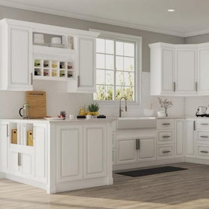 cabinet kitchen pvc thermofoil rta kitchen cabinet