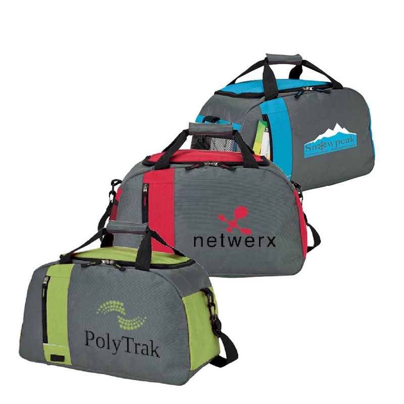 New products large capacity polyester sports travel duffel tote
