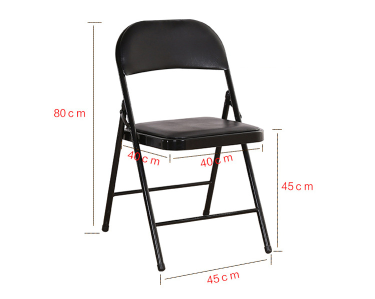 China manufacturer floor folding chair with good quality for Good quality folding chairs