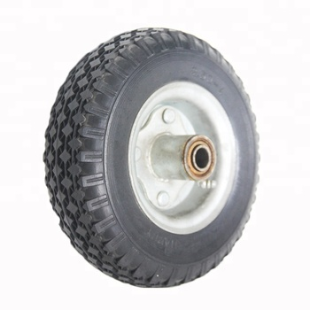 New Tires 6 Inch Polyurethane Foam Wheels For Cargo Cart