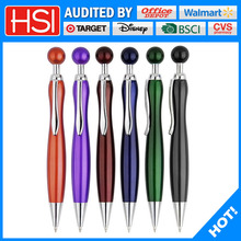 top selling unique design best writing metal ballpoint pen