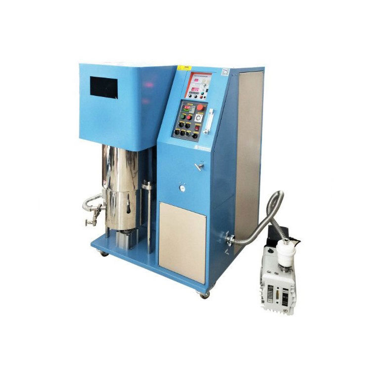 High pressure atmosphere control induction melting casting granulator for Metal smelting separation or filter residue