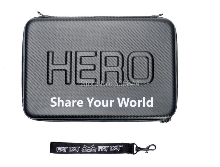 "New Large Size 13"" Super Water-proof Hard Gopro Case Bag Box For Gopro"