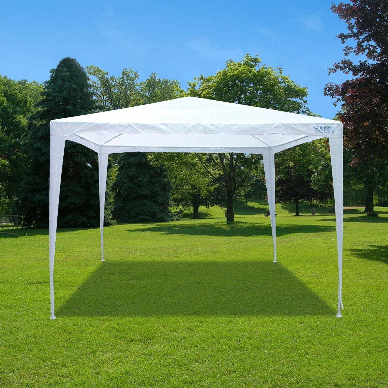 Get Quotations · Peaktop® 10u0027x10u0027 Heavy Duty Outdoor Party Tent Carport Wedding Canopy Gazebo Pavilion & Cheap Peaktop Tent Review find Peaktop Tent Review deals on line at ...