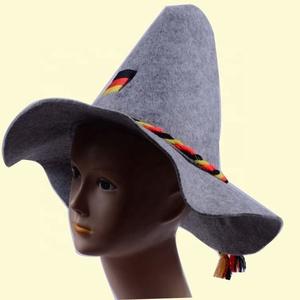 New Hot selling German oktoberfest felt hat Erdinger felt hat felt bavarian  hat 205b57945a62
