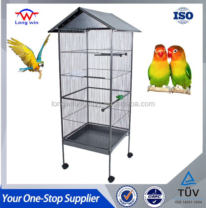 Color Option Stainless Steel Cheap Bird Cage