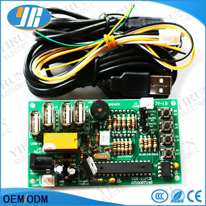 Newest coin operated USB time control Timer Board Power Supply for coin acceptor selector device, USB devices, etc..